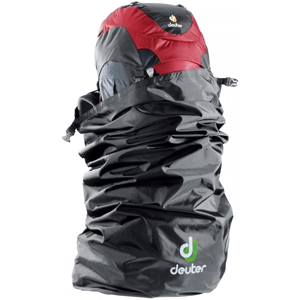 Pláštěnka na batoh DEUTER Flight Cover 90 černá