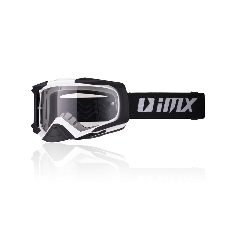 Motokrosové brýle iMX Dust White-Black Matt