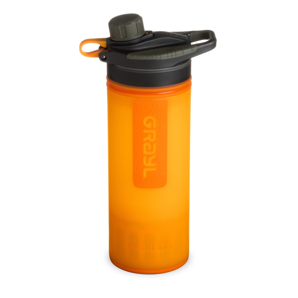Grayl Geopress Purifier Visibility Orange