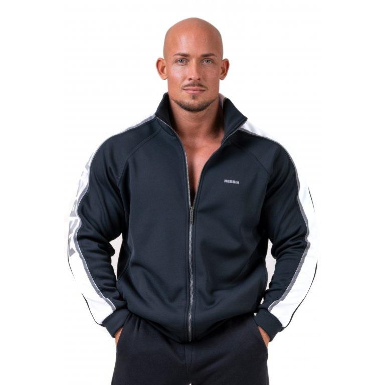 Pánská ikonická bunda Nebbia Limitless 176  Black  M