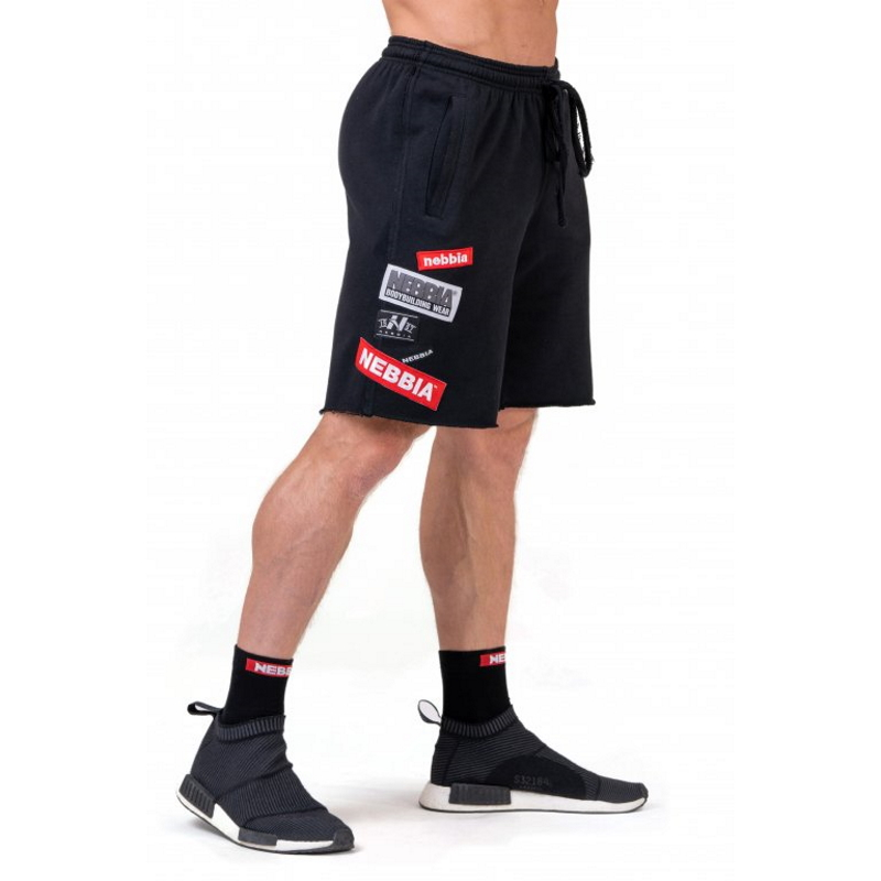 Nebbia Limitless BOYS shorts 178 Black - M