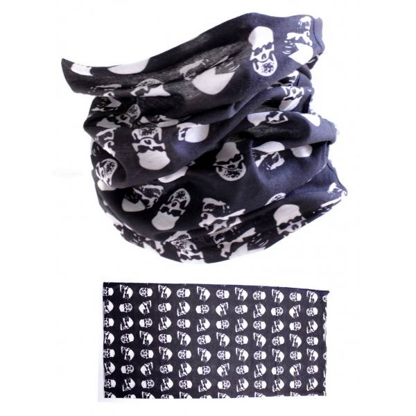 MTHDR Scarf Field Of Skulls