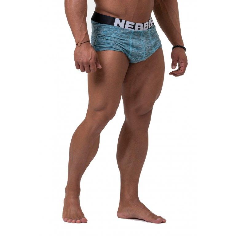 Pánské boxerky Nebbia 190 Blue - M