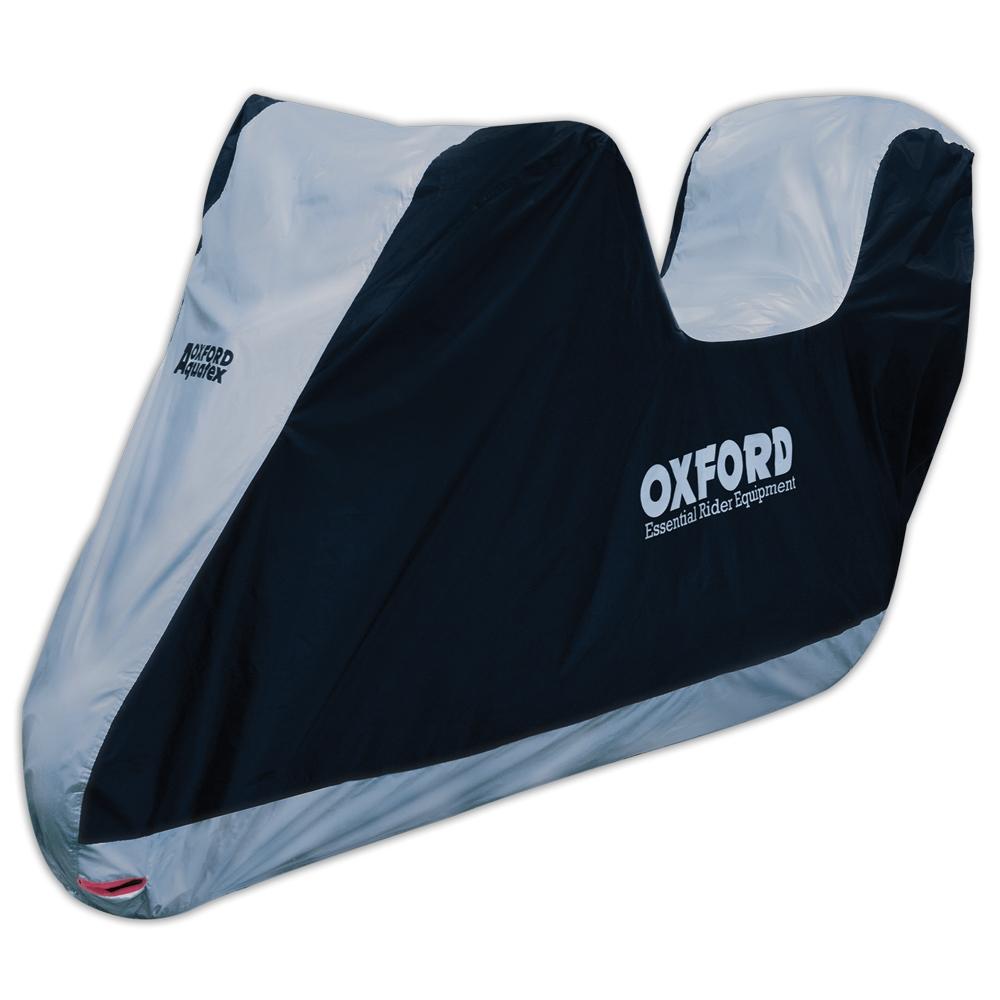 Plachta na motorku Oxford Aquatex s prostorem na kufr XL