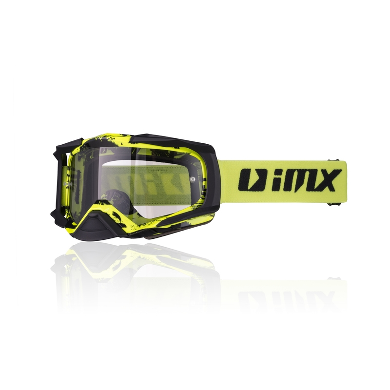 iMX Dust Graphic Fluo YellowBlack Matt
