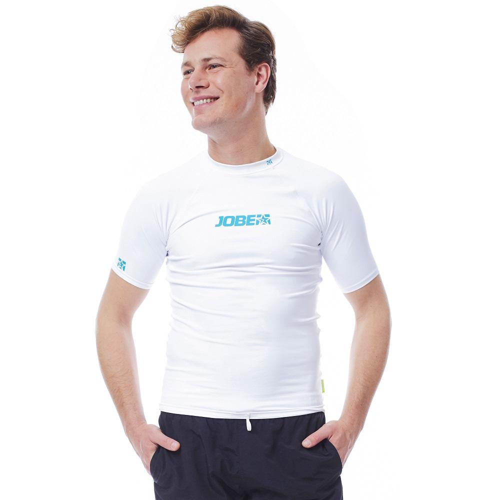 Pánské tričko pro vodní sporty Jobe Rashguard bílá - S