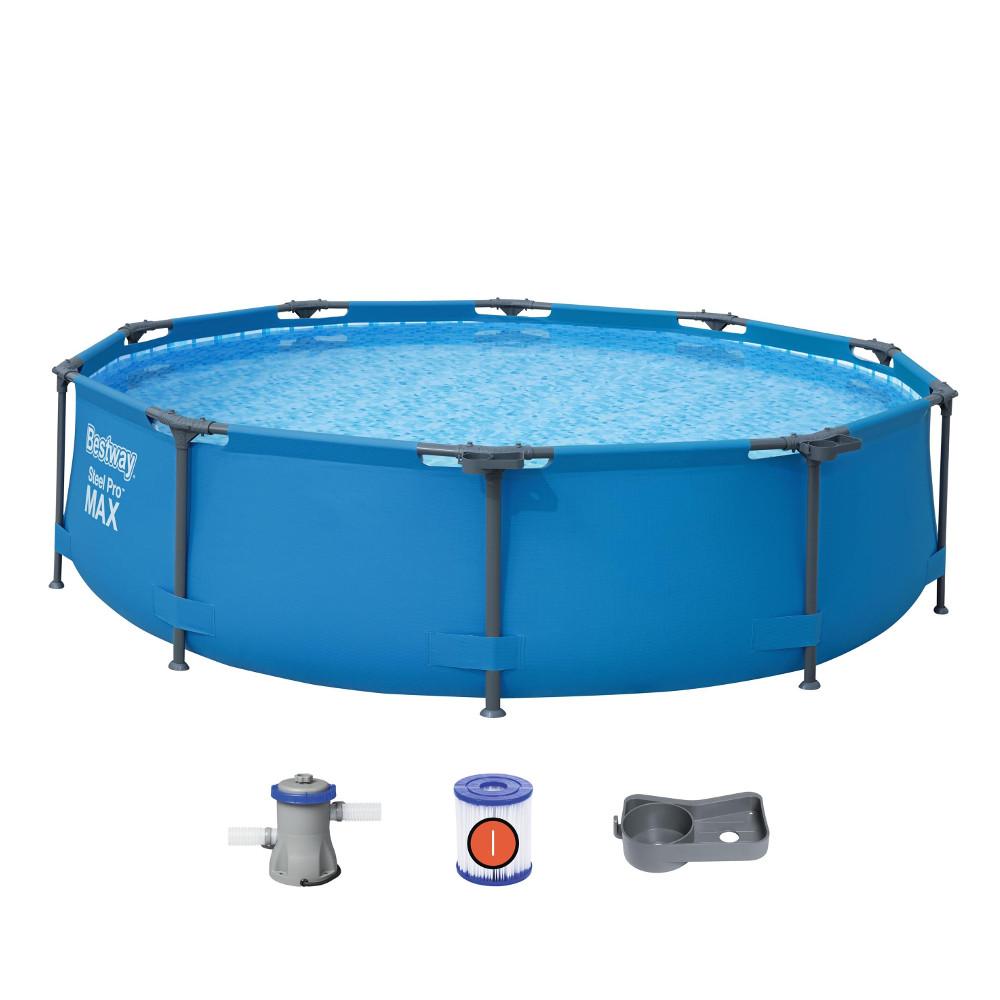 Bazén Bestway Steel Pro Max 305 x 76 cm s filtrací