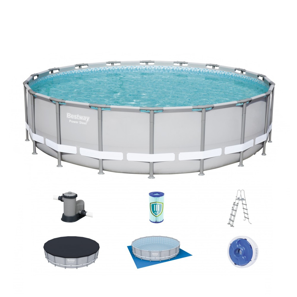 Bazén Bestway Power Steel 549 x 132 cm s filtrací