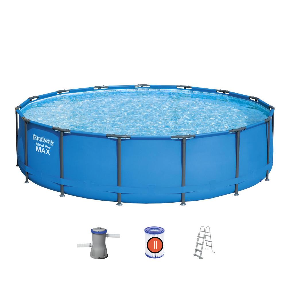 Bazén Bestway Steel Pro Max 427 x 107 cm s filtrací