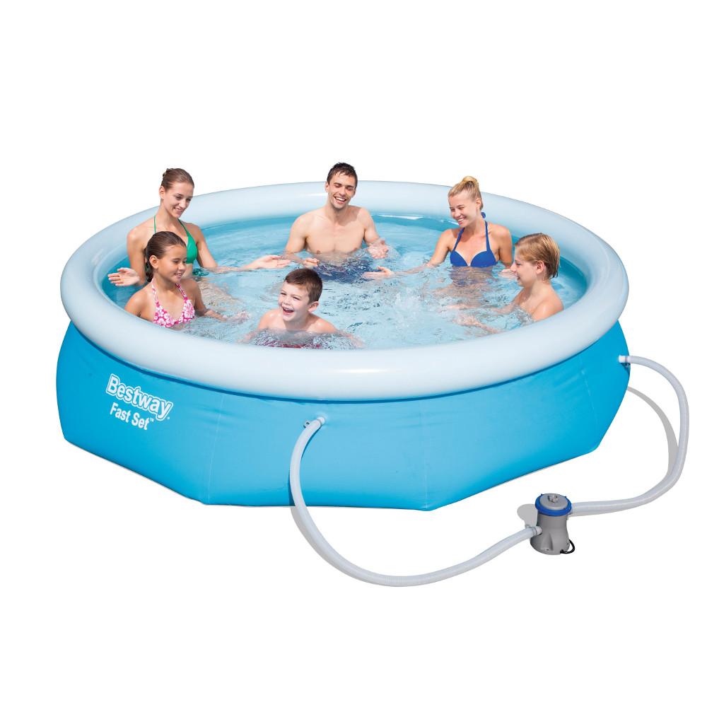 Bazén Bestway Fast Set 305 x 76 cm s filtrací
