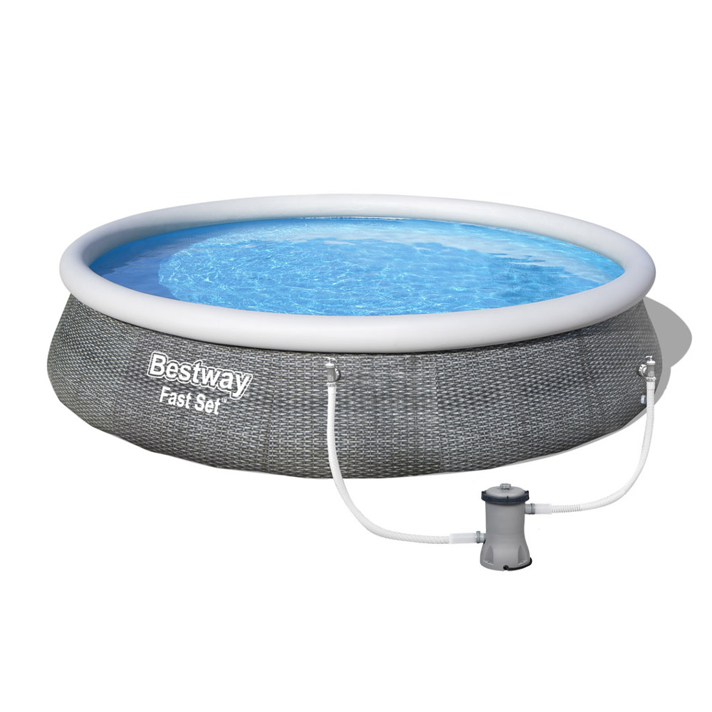 Bazén Bestway Fast Set 396 x 84 cm s filtrací