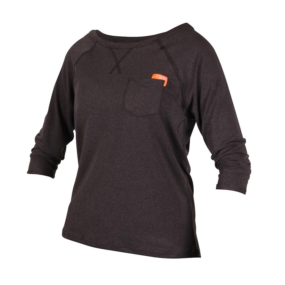 Dámské tričko Jobe Loose Fit Grap černá - S