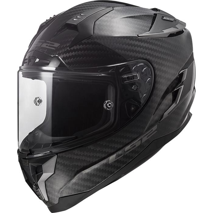 Moto přilba LS2 FF327 Challenger C Carbon Solid Black - XXS (51-52)