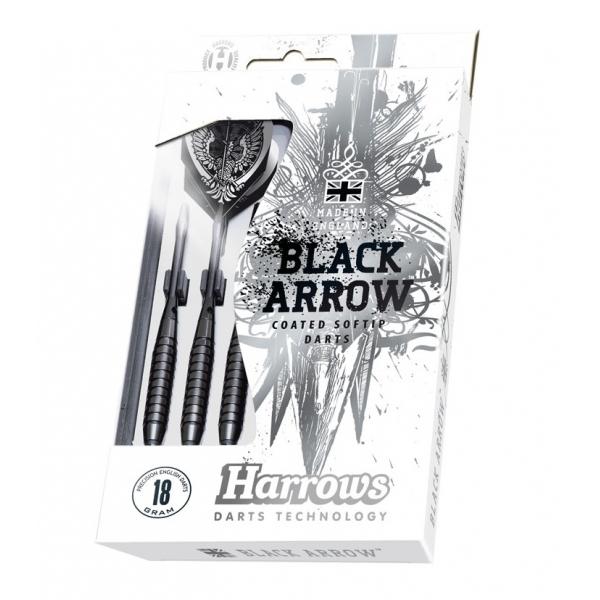 Šipky Harrows Black Arrow 3ks 18 g