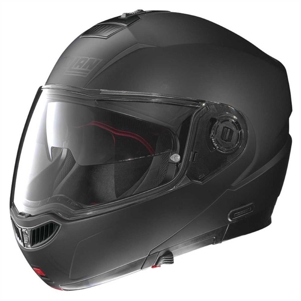 Moto helma Nolan N104 Absolute Classic N-Com Flat Black - L (59-60)