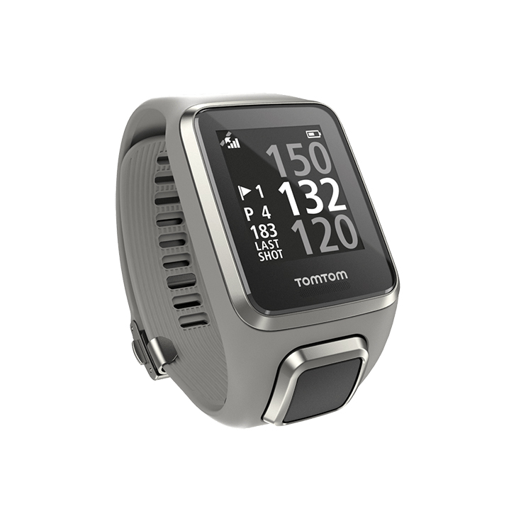GPS hodinky TomTom Golfer 2 světle šedá