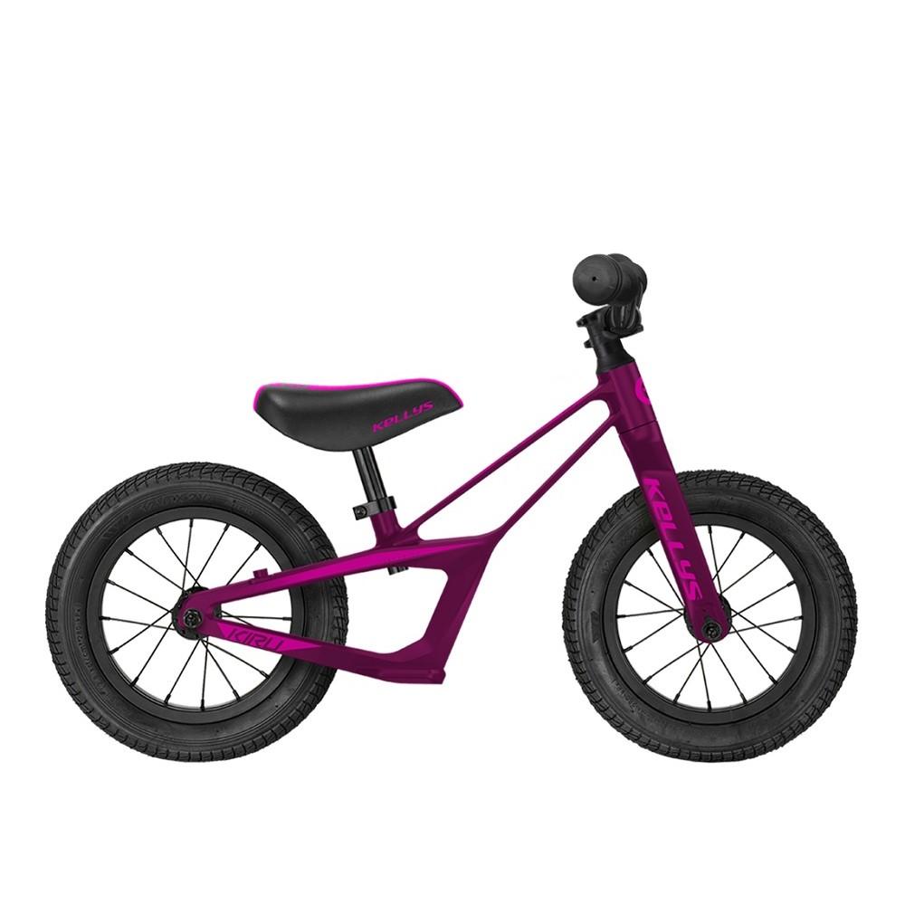 """Odrážedlo KELLYS KIRU 12"""" - model 2021 Purple"""
