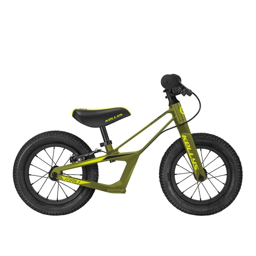 """Odrážedlo KELLYS KIRU RACE 12"""" - model 2021 Forest"""