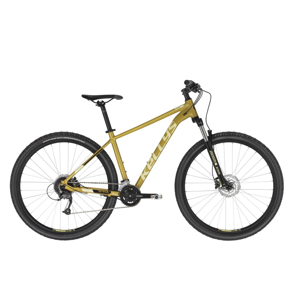 "Horské kolo KELLYS SPIDER 70 27,5"" - model 2021 Yellow - S (17'')"