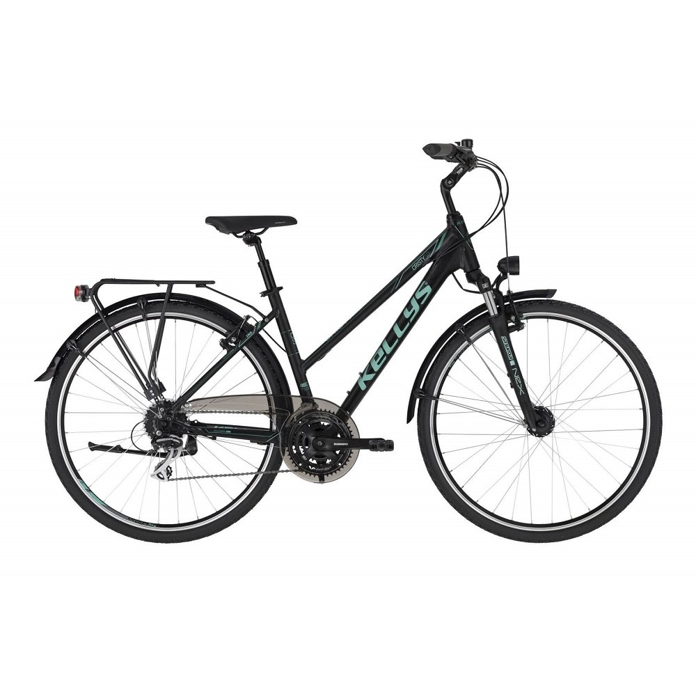 """Dámské trekingové kolo KELLYS CRISTY 50 28"""" - model 2021 M (18"""") - Záruka 10 let"""