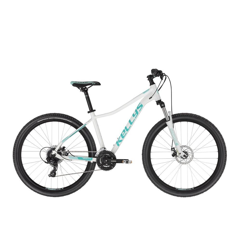 """Dámské horské kolo KELLYS VANITY 30 27,5"""" - model 2021 White - M (17"""") - Záruka 10 let"""