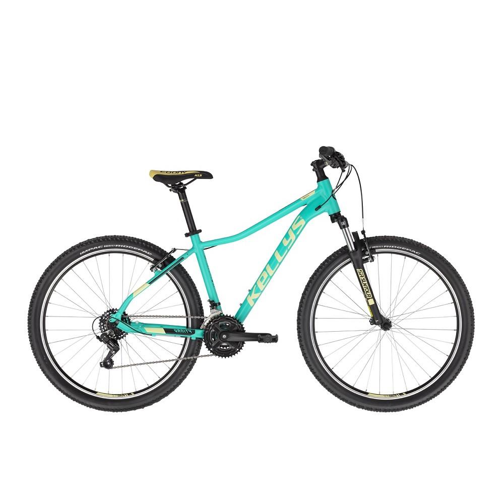 """Dámské horské kolo KELLYS VANITY 10 27,5"""" - model 2021 Aqua Green - S (15"""") - Záruka 10 let"""