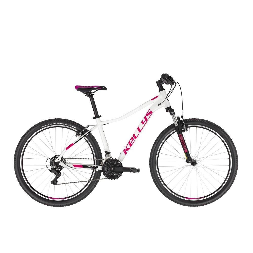 """Dámské horské kolo KELLYS VANITY 10 27,5"""" - model 2021 White - S (15"""") - Záruka 10 let"""