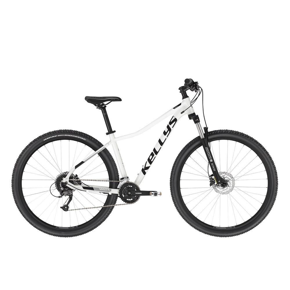 """Dámské horské kolo KELLYS VANITY 70 29"""" - model 2021 White - M (17"""") - Záruka 10 let"""