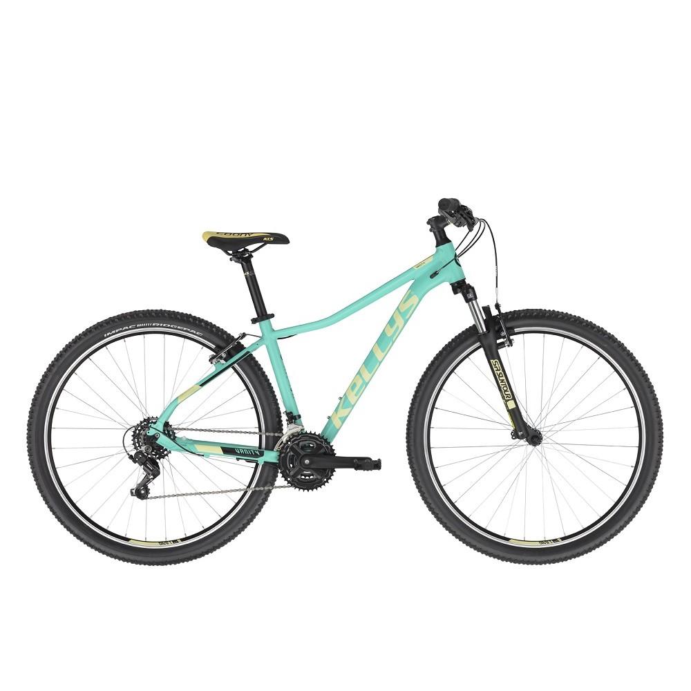 """Dámské horské kolo KELLYS VANITY 10 29"""" - model 2021 Aqua Green - M (17"""") - Záruka 10 let"""