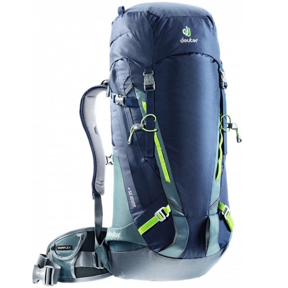 Horolezecký batoh DEUTER Guide 35+ 2017 modrá