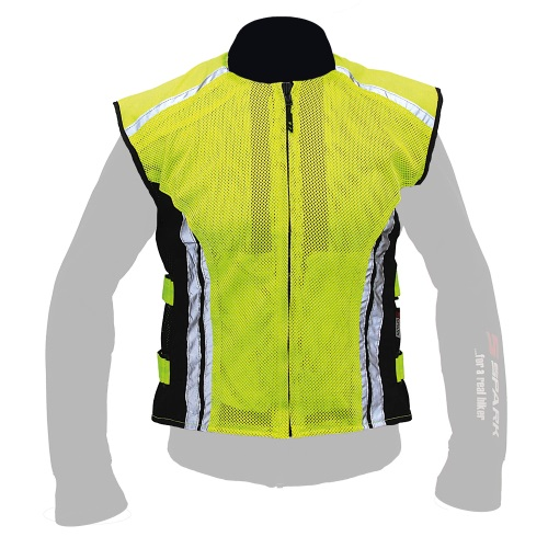 Reflexní vesta SPARK Neon Reflexní žlutá - M