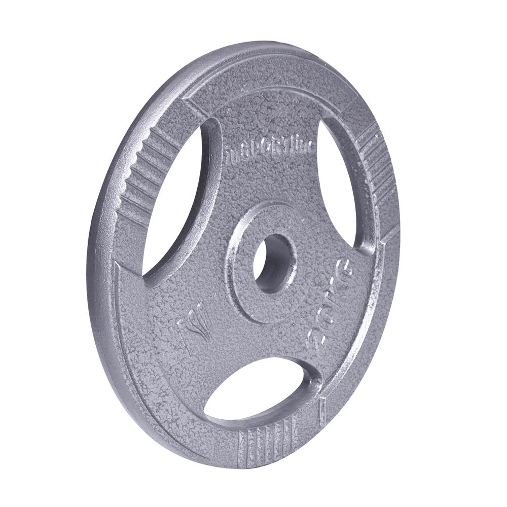 Ocelový olympijský kotouč inSPORTline Hamerton 20 kg