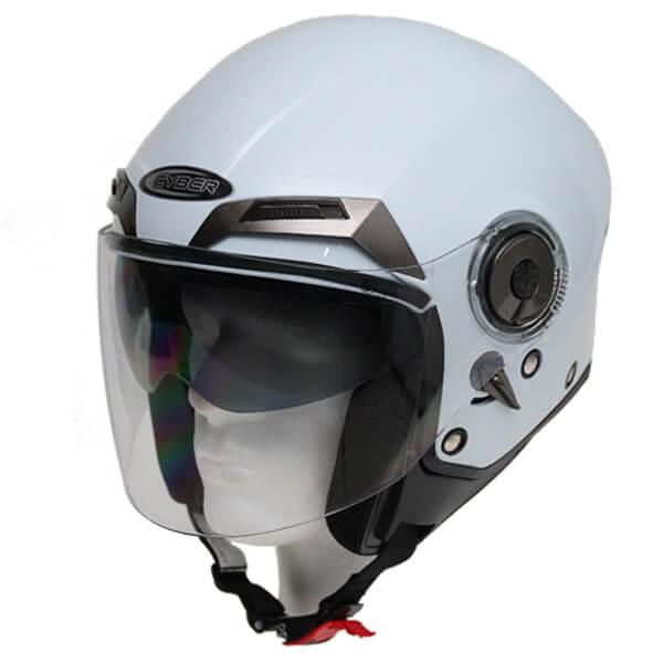 Moto helma Cyber U 44 bílá - XS (53-54)