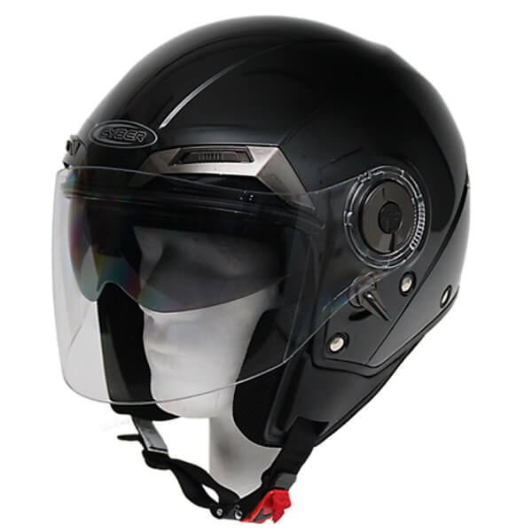 Moto helma Cyber U 44 černá - XS (53-54)