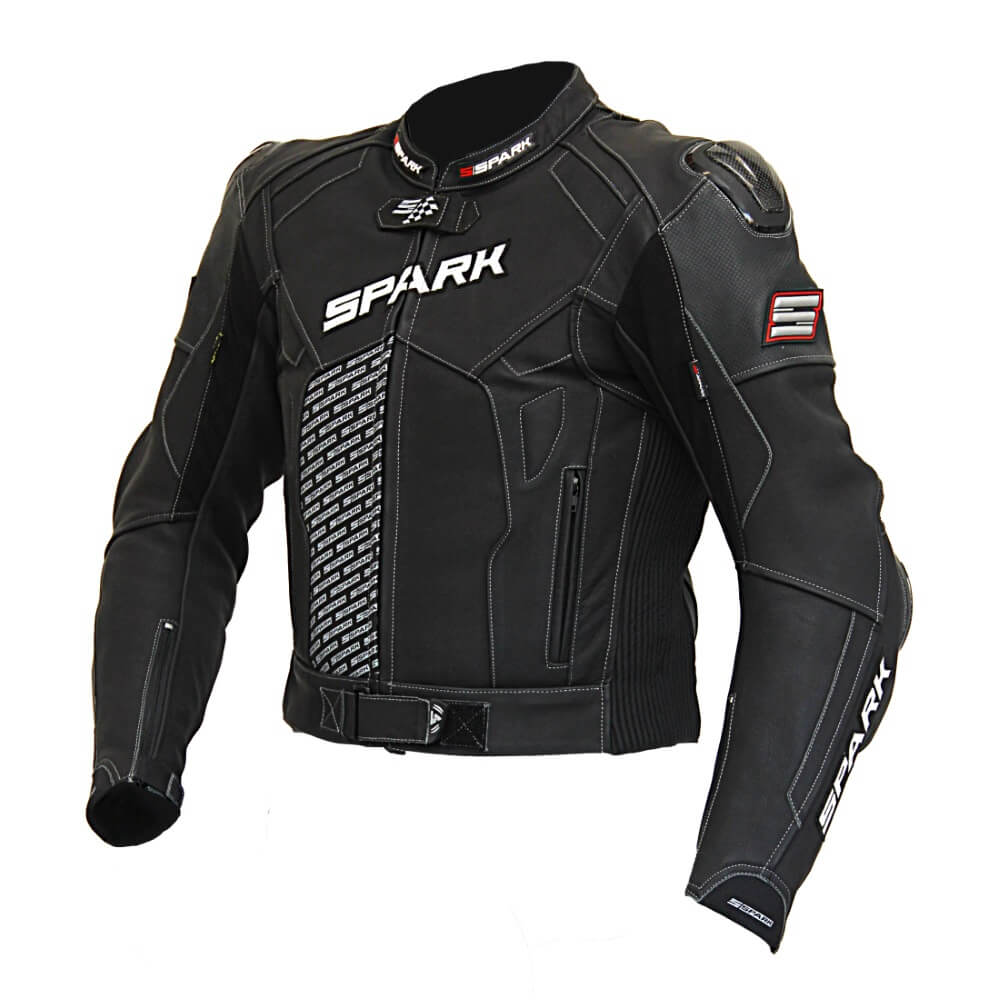 Pánská kožená moto bunda Spark ProComp M