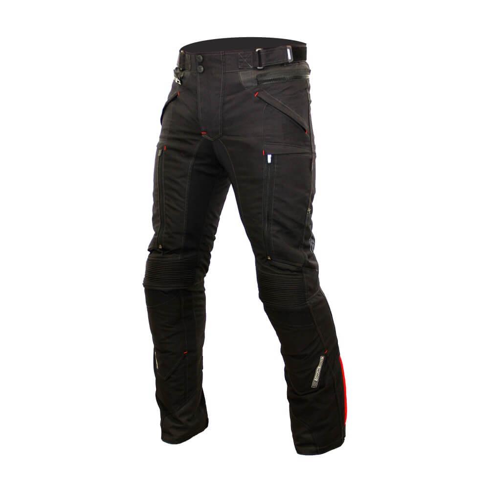 Pánské textilní moto kalhoty Spark Nautic černá - S