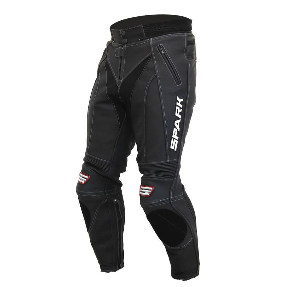 Pánské kožené moto kalhoty Spark ProComp S