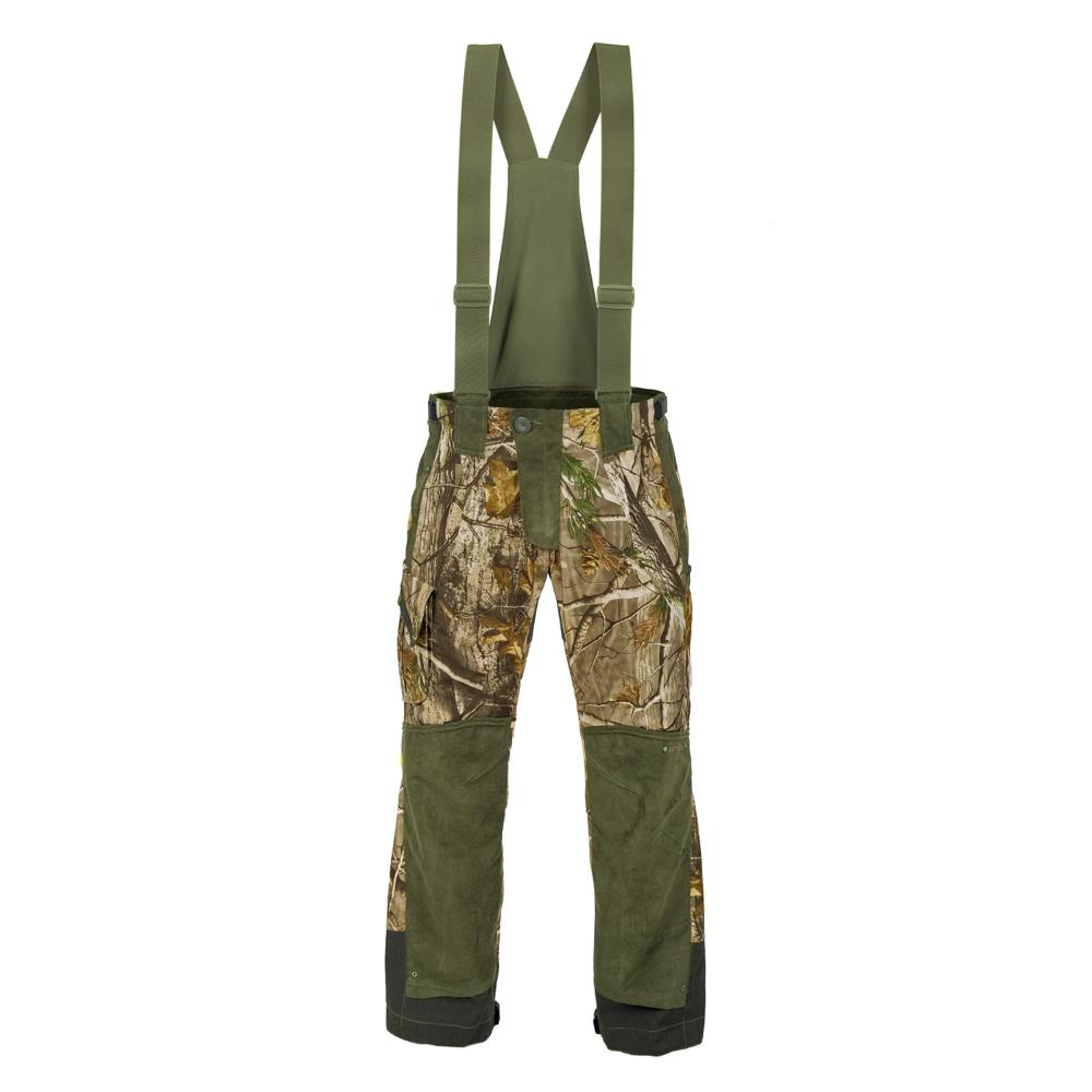 Lovecké kalhoty Graff 759-B-L zeleno-hnědá - XL 182-188 cm