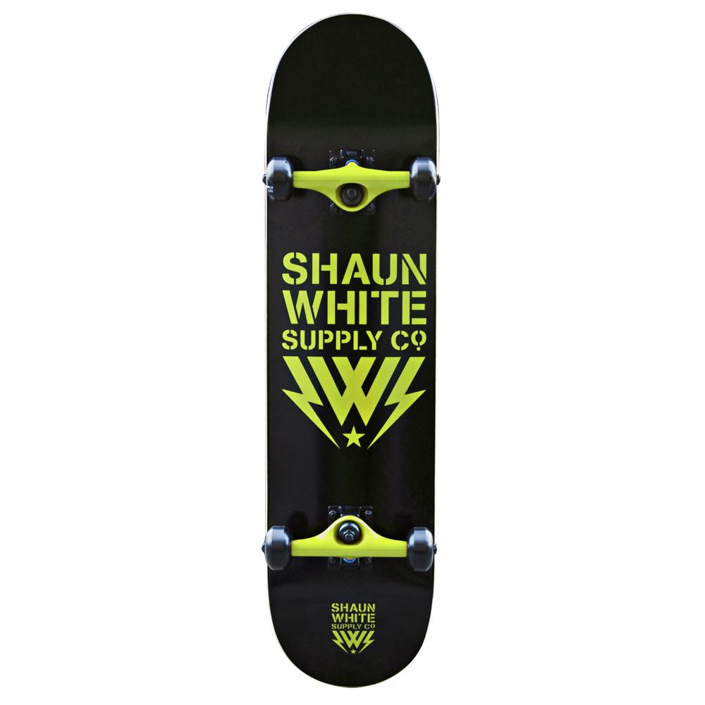 Skateboard Shaun White Core černo-zelená