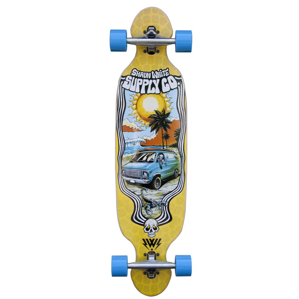 "Longboard Shaun White Baja 38"""