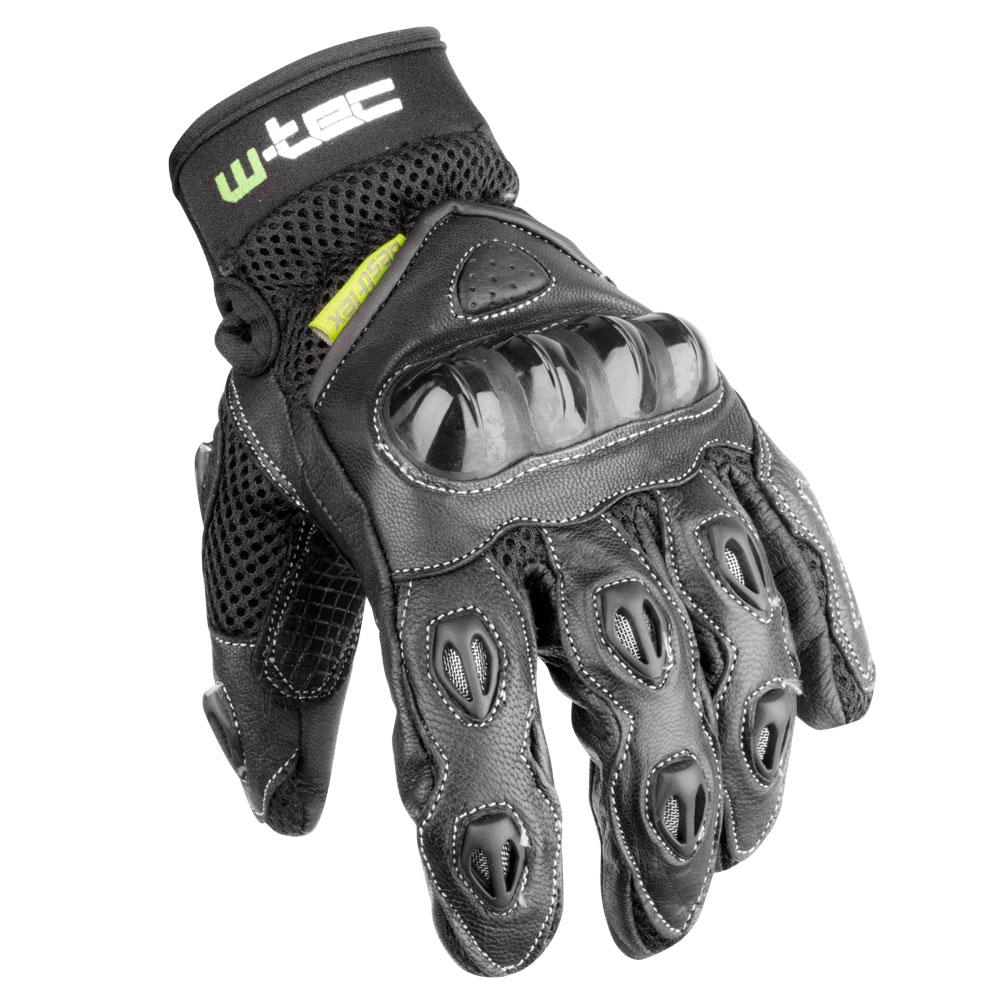 Pánské moto rukavice W-TEC Amban Wala černá - S