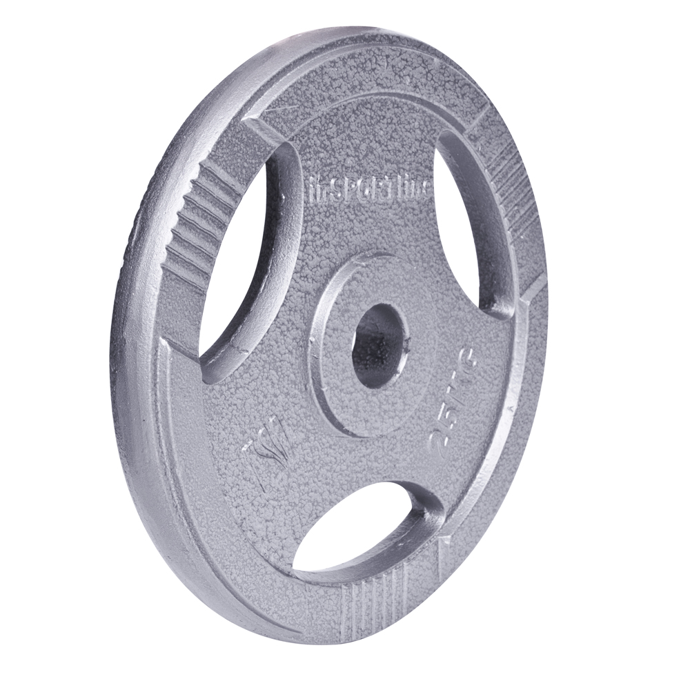 Ocelový olympijský kotouč inSPORTline Hamerton 25 kg