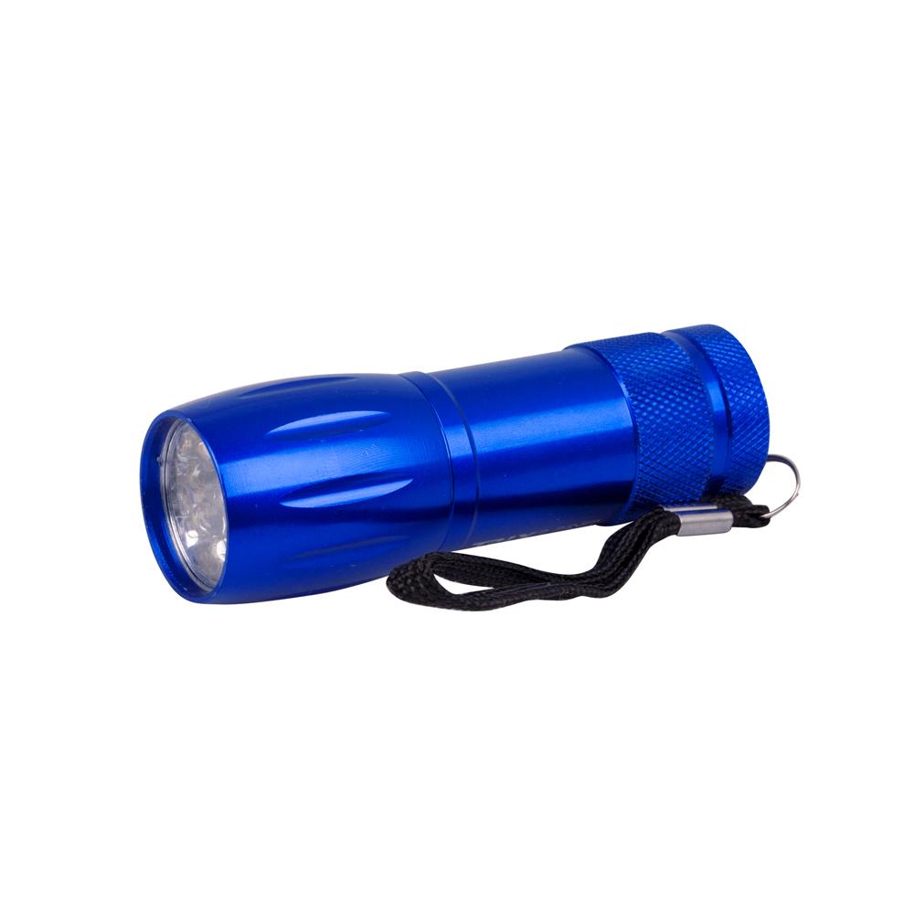Hliníková příruční svítilna BC BCS 193 modrá