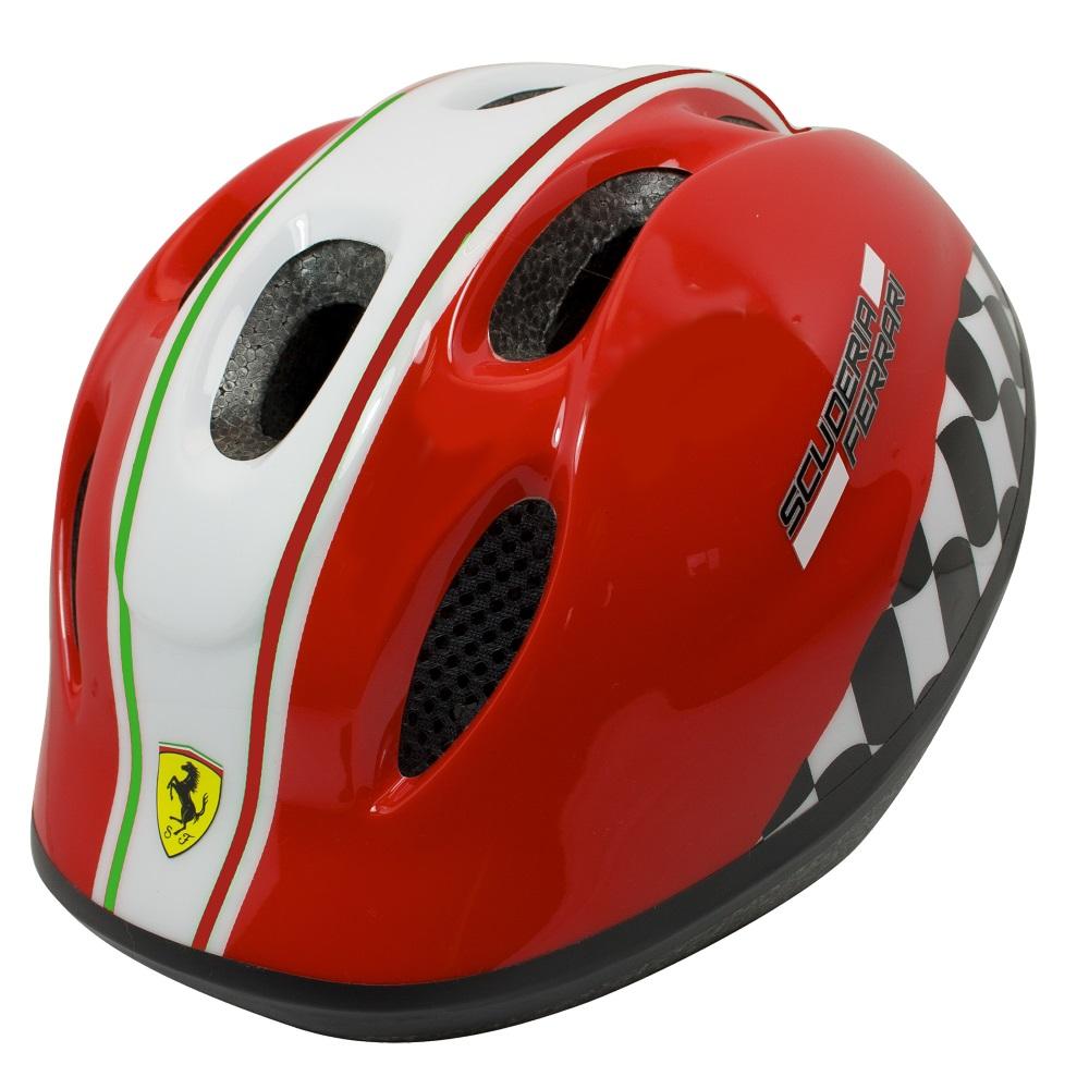 Dětská cyklistická přilba Ferrari