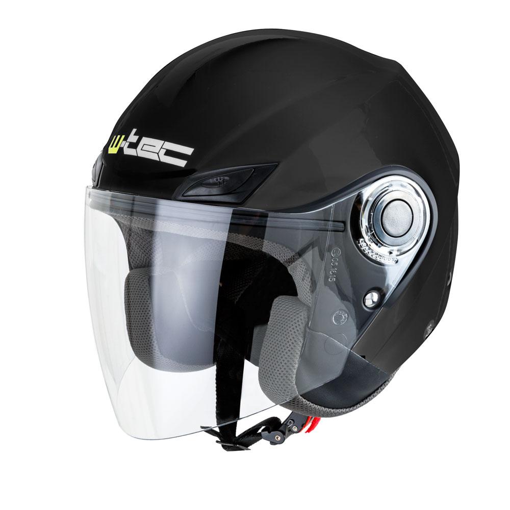 Moto helma W-TEC NK-627 černá lesk - XS (53-54)