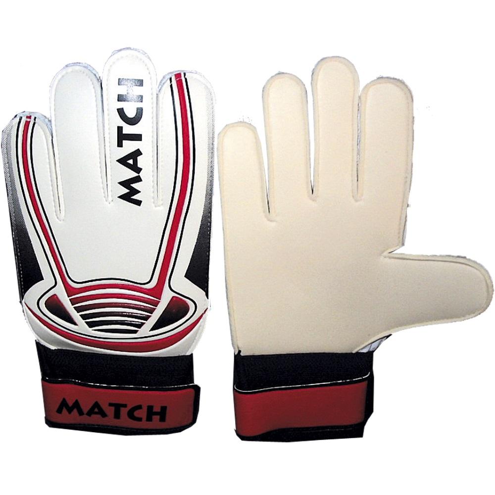 Fotbalové rukavice Match bílá - XS