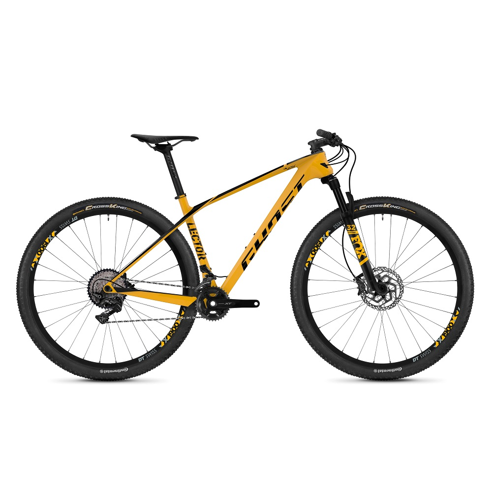 Ghost Lector 49 LC U 29  model 2019 Spectra Yellow  Jet Black  M 18