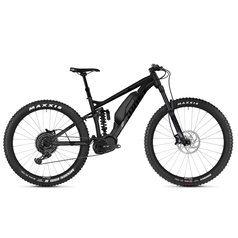 Ghost Hybride SL AMR X S47 AL 29  model 2019 Night Black  Jet Black  Iridium Silver  XL 195