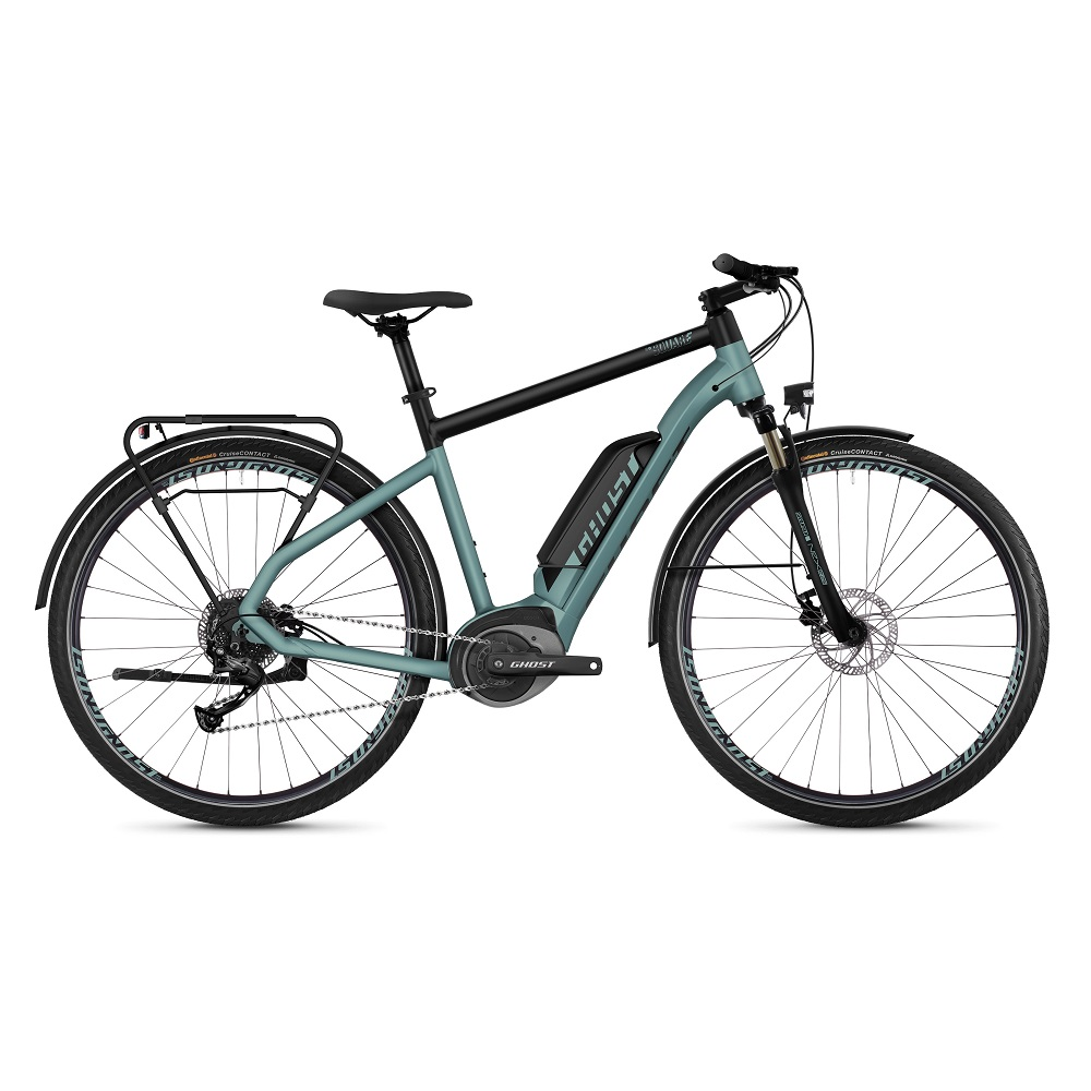 "Trekingové elektrokolo Ghost Square Trekking B1.8 28"" - model 2019 River Blue / Jet Black - XL (24,5"") - Záruka 10 let"