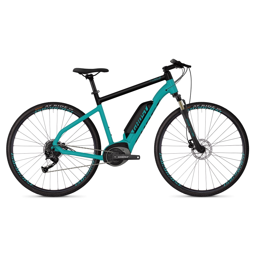 Ghost Square Cross B1.8 28 - model 2019 Electric Blue  Jet Black - XL (24,5)